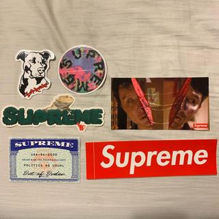 シュプリーム(Supreme)のSupreme ステッカー 6枚 box logo シュプリーム(その他)