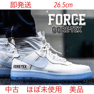 ナイキ(NIKE)のNIKE AIR FORCE 1 WNTR GORE TEX White 白(スニーカー)