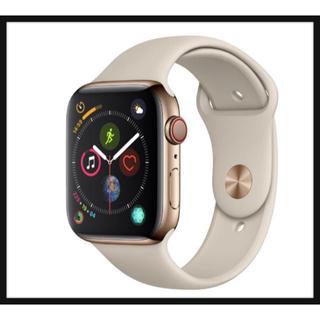 アップルウォッチ(Apple Watch)のApple Watch Series 4(GPS + Cellularモデル)(腕時計(デジタル))
