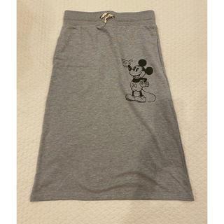 ディズニー(Disney)のディズニー ミッキー スカート(ひざ丈スカート)