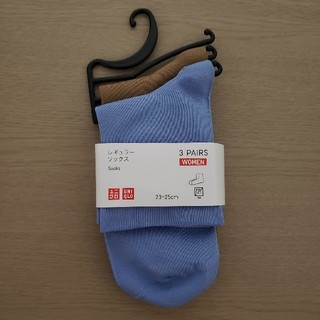 ユニクロ(UNIQLO)の新品未使用 ユニクロ UNIQLO  レギュラー ソックス 23~25cm(ソックス)