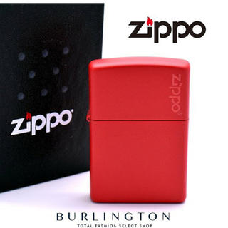 ジッポー(ZIPPO)のZippo レッドマットカラー(タバコグッズ)