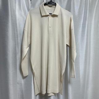 イッセイミヤケ(ISSEY MIYAKE)のhomme plisse issey miyake ロングポロシャツ(ポロシャツ)