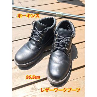 ホーキンス(HAWKINS)のホーキンス レザーワークブーツ 26.5cm HL43006 高級本革(ブーツ)