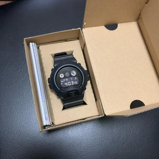 ジーショック(G-SHOCK)のG-SHOCK DW-6900BBA-1JF 新品未使用(腕時計(デジタル))