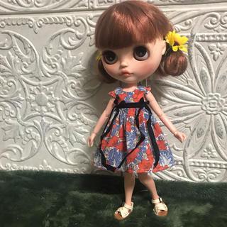 小さな袖のワンピース46(人形)