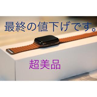 アップルウォッチ(Apple Watch)のApple Watch series 5 Titanium 44mm Black(腕時計(デジタル))