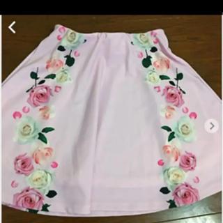 ダチュラ(DaTuRa)の値下げ美品ダチュラ薔薇柄スカート(ミニスカート)