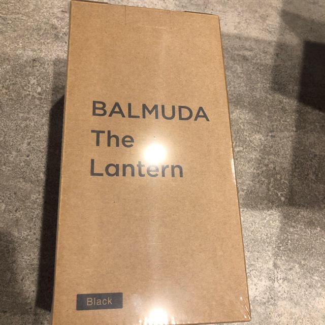BALMUDA(バルミューダ)のバルミューダ   ランタン ブラック 新品未開封 スポーツ/アウトドアのアウトドア(ライト/ランタン)の商品写真