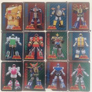 ショウガクカン(小学館)の小学館 ふろく 超力戦隊オーレンジャー キャラクター カード 12枚セット(キャラクターグッズ)
