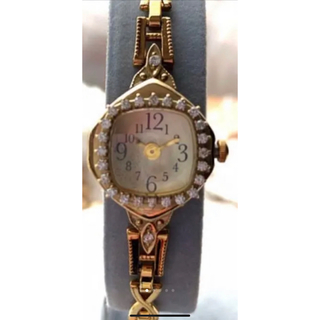 アガット(agete)のアガット 限定 時計 ダイヤモンド クリスマス アリシアスタン ザラ アーカー (腕時計)
