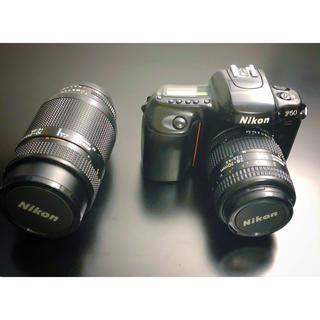 ニコン(Nikon)のNikon F50/AF NIKKOR35-70mm/70-210mm  動作品(フィルムカメラ)