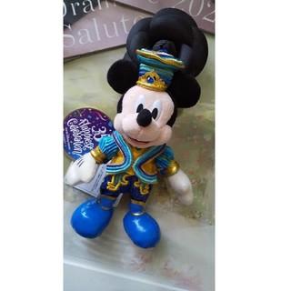 ミッキーマウス(ミッキーマウス)のディズニー 35周年【新品タグ】ミッキー 35周年 ぬいぐるみ バッジ(バッジ/ピンバッジ)