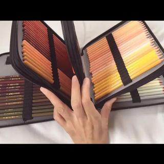 フェリシモ(FELISSIMO)のフェリシモ 500色鉛筆 フルセット、カバーつけます ほぼ未使用(色鉛筆)