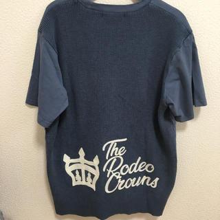 RODEO CROWNS WIDE BOWL - ロデオクラウンズ コンビニット Tシャツ