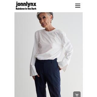ジョンリンクス(jonnlynx)のjonnlynx ジョンリンクス シャツ ブラウス 白 新品未使用 サイズM(シャツ/ブラウス(長袖/七分))