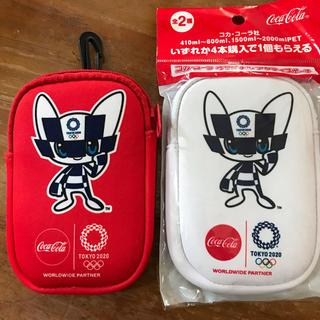 コカコーラ(コカ・コーラ)の非売品2種セット コラコーラ TOKYOオリンピック2020 ポーチ(ノベルティグッズ)