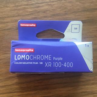 LomoChrome Purple 400 ブローニー(フィルムカメラ)