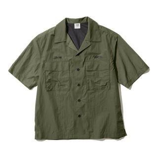 ソフ(SOPH)のGU 1MW by SOPH. +X オープンカラーシャツ(シャツ)