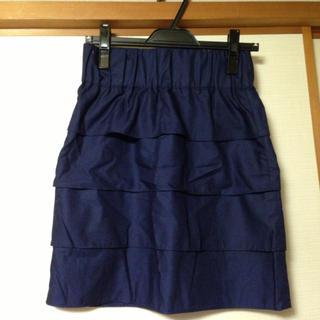 プーラフリーム(pour la frime)のプーラフリーム  ティアードスカート(ひざ丈スカート)