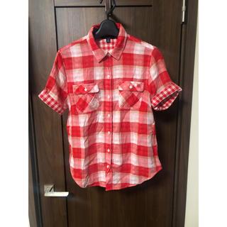 トミーヒルフィガー(TOMMY HILFIGER)のトミー 半袖シャツ チェックシャツ(シャツ/ブラウス(半袖/袖なし))