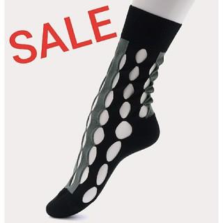 ヴィヴィアンウエストウッド(Vivienne Westwood)のSALE2020春夏新品●ホール●🧦ソックスBK🧦ヴィヴィアンウエストウッド(ソックス)