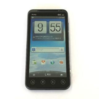 HTC - au HTC EVO 3D ISW12HT ブラック