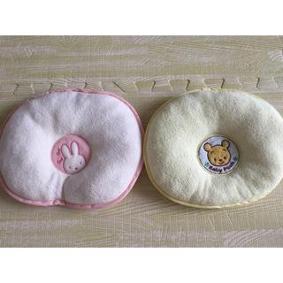 ニシマツヤ(西松屋)の0歳児〜 赤ちゃん 枕 ピロー baby 2点セット(枕)