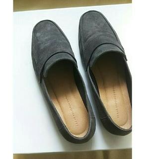 アーバンリサーチ(URBAN RESEARCH)の37インチ★トラッド調 グレー urbanresearch(ローファー/革靴)