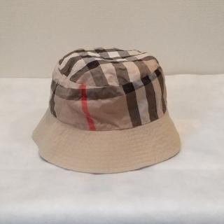 バーバリー(BURBERRY)のバーバリー ベビー帽子 50㎝位まで(帽子)