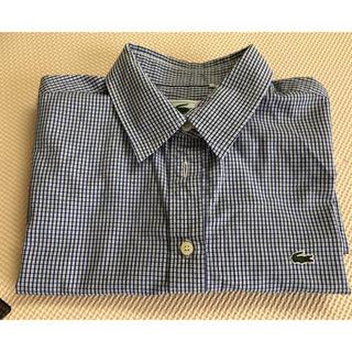 ラコステ(LACOSTE)のラコステ レディースシャツ サイズ40(シャツ/ブラウス(半袖/袖なし))