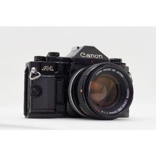 キヤノン(Canon)の★安心1週間保証★ Canon A-1 + FD 50mm f/1.4 S.S.(フィルムカメラ)