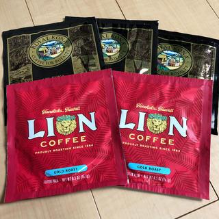 LION - コナコーヒー ライオンコーヒーゴールドロースト 5袋セット