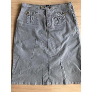 ドルチェアンドガッバーナ(DOLCE&GABBANA)のD&G・タイトスカートお値下げ‼︎(ひざ丈スカート)
