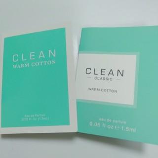 クリーン(CLEAN)の【46】クリーン香水サンプル2点セット(ユニセックス)