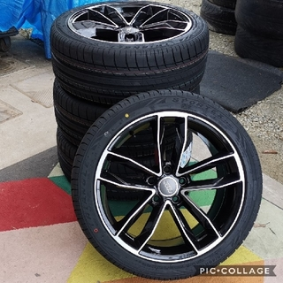 アウディ(AUDI)のアウディ A4 8K 18 インチタイヤ付き4本セット245/40R18 (タイヤ・ホイールセット)