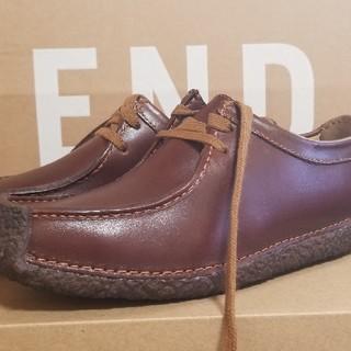 クラークス(Clarks)の新品/Clarks ナタリー 22.5cm ブラウン(ローファー/革靴)