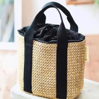 エージーバイアクアガール(AG by aquagirl)のAGバイアクアガール特製お出かけかごバッグ新品未使用(かごバッグ/ストローバッグ)