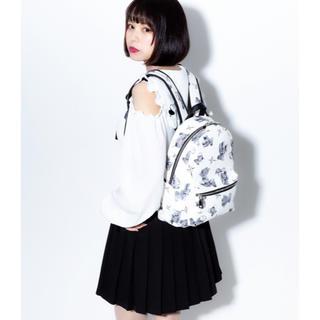 ミルクボーイ(MILKBOY)のTRAVAS TOKYO    PU Back Pack  ホワイト  リュック(リュック/バックパック)