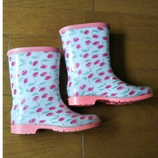 フタフタ(futafuta)のレインブーツ 18㎝(長靴/レインシューズ)