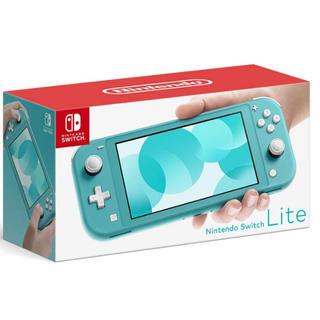 ニンテンドースイッチ(Nintendo Switch)のニンテンドースイッチ ライト本体  ターコイズブルー(携帯用ゲーム機本体)