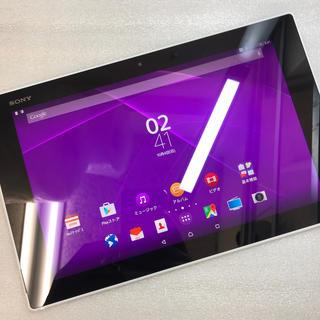 エクスペリア(Xperia)のaki836 au Xperia Z2 Tablet SOT21 ジャンク(タブレット)