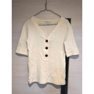 アダムエロぺ(Adam et Rope')のワッフルTシャツ(Tシャツ/カットソー(半袖/袖なし))