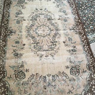アクタス(ACTUS)の未使用◆ヴィンテージラグ 絨毯 トルコラグ モモナチュラル  ブロカント(ラグ)