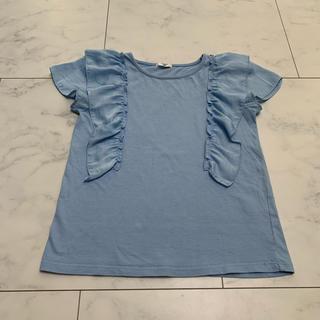 ジーユー(GU)のGU ガールズTシャツ  サイズ140(Tシャツ/カットソー)