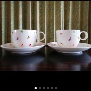 トウヨウササキガラス(東洋佐々木ガラス)のコーヒーカップセット(1客)(食器)