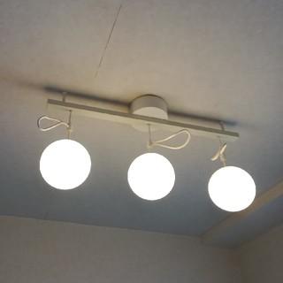 ムジルシリョウヒン(MUJI (無印良品))の無印良品 シリコーン製3連ペンダントライト(天井照明)