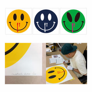 toki4000様 madsaki happiness overdose 3枚(版画)