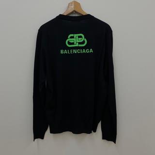 バレンシアガ(Balenciaga)のBALENCIAGA 19AW BBロゴ ニット(ニット/セーター)