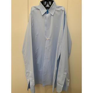ラフシモンズ(RAF SIMONS)のRAF SIMONS ラフシモンズ ブルーシャツ サイズ44 09-10シーズン(シャツ)
